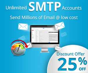 Get 50 discount offer on Bulk Mail Service